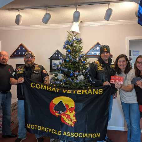 Donation from CVMA Chapter 15-6