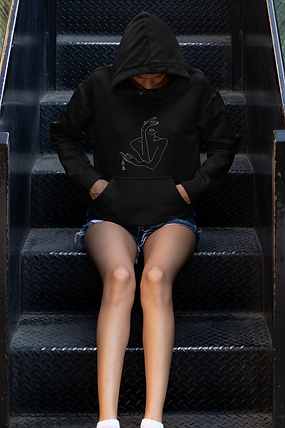 hoodie-mockup-of-a-young-woman-sitting-o