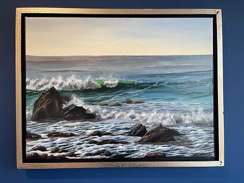Crashing Waves (18 x 24)