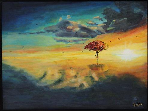 Lone Tree (18 x 24)