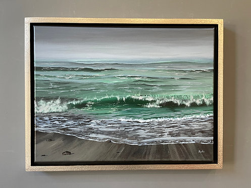 The Wave (18 x 24) - Available at SFWA Gallery