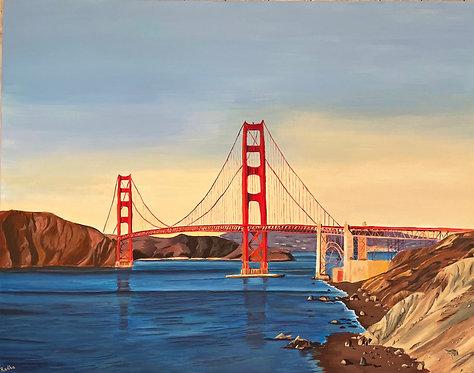 Golden Gate Bridge (30 x 40)