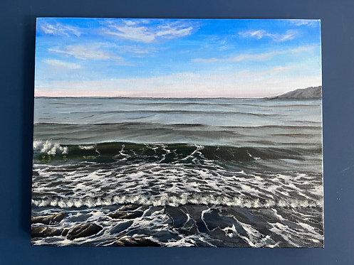 Ocean Waves at San Luis Obispo
