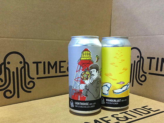 The Lager Box (24 x 440ml cans)