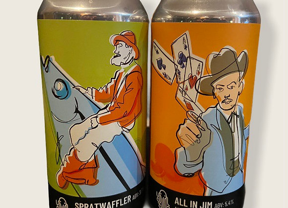 The Jim-Waffler Box (12/24 x 440ml cans)
