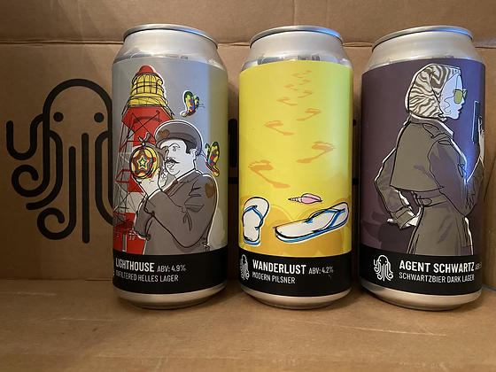The Tri-Lager Box (24 x 440ml cans)