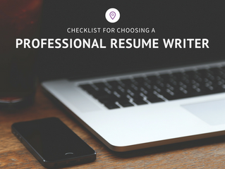 Super Quick Checklist for Choosing the Perfect Professional Resume Writer for You