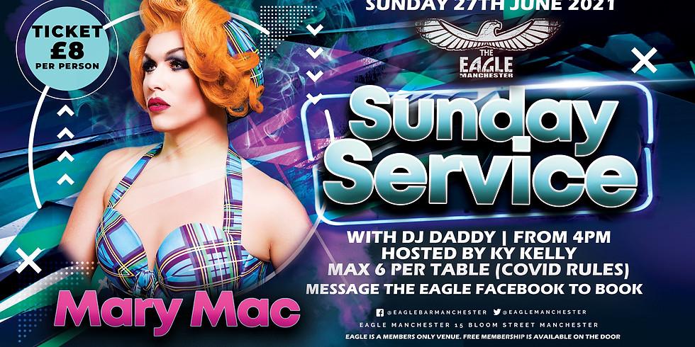 Mary Mac does Sunday Service