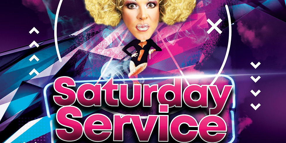 Drag With No Name does Saturday Service, Late