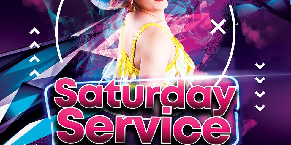 Cherry Liquor does Saturday Service