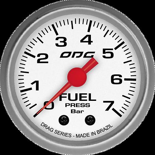 Manômetro de pressão de combustível 7 bar