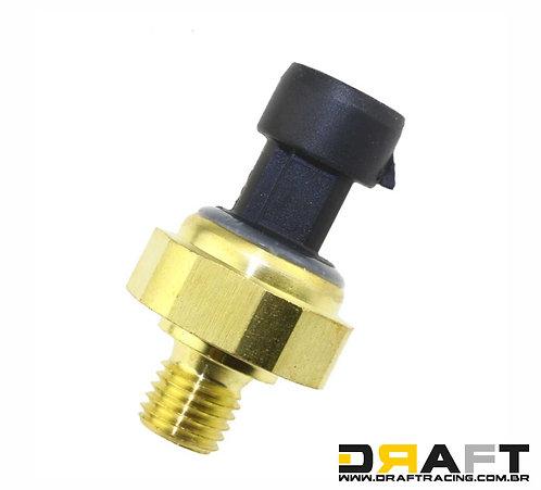 Sensor eletrônico de pressão 0 a 12 bar, óleo e comb