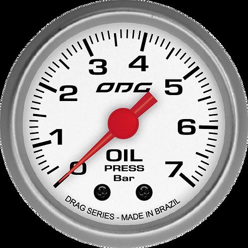 Manômetro de pressão de óleo  7 bar