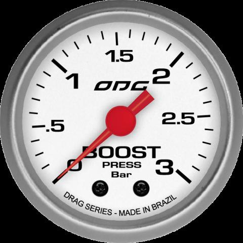 Manômetro de pressão de turbo 3 bar