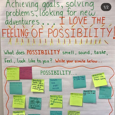 Awakening our senses, achieving goals, solving problems and looking for new adventures are key to all the SEL building blocks: self-management, self awareness, social awareness, responsible decision making and relationship skills