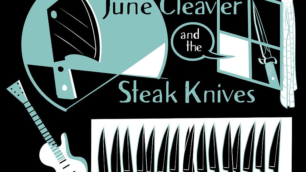 JCSK -Cleaver & Guitar -on dark