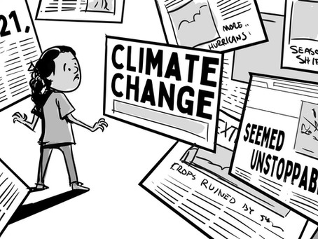 3 tips to convey HOPE when explaining a DARK topic (like climate change)