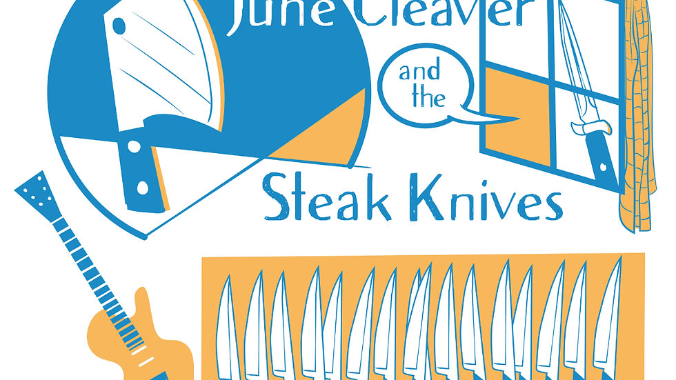 JCSK -Cleaver Guitar -on white