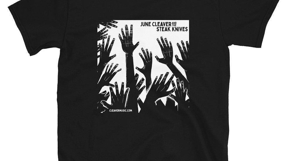 JCSK -Hands White on Dark Shirt