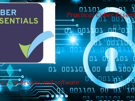 Cyber Essentials - Secure your devices and software