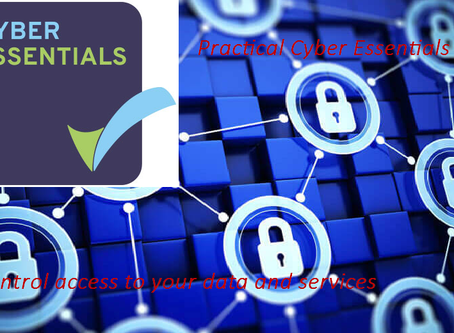Cyber Essentials - control access to your data and services