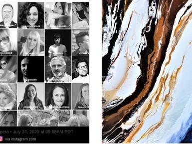 'Larnaca' artwork featured in 2020 Fine Art Catalog