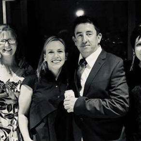 Redan Ball with Darren and Jill Broadbent and Michelle and Neil McCahon