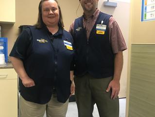 Walmart Catoosa Raises Money For Light of Hope