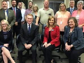 U.S. Senator James Lankford visits LOH.