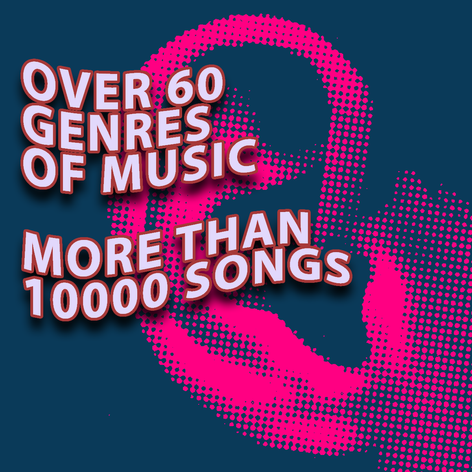 Over 60 genres
