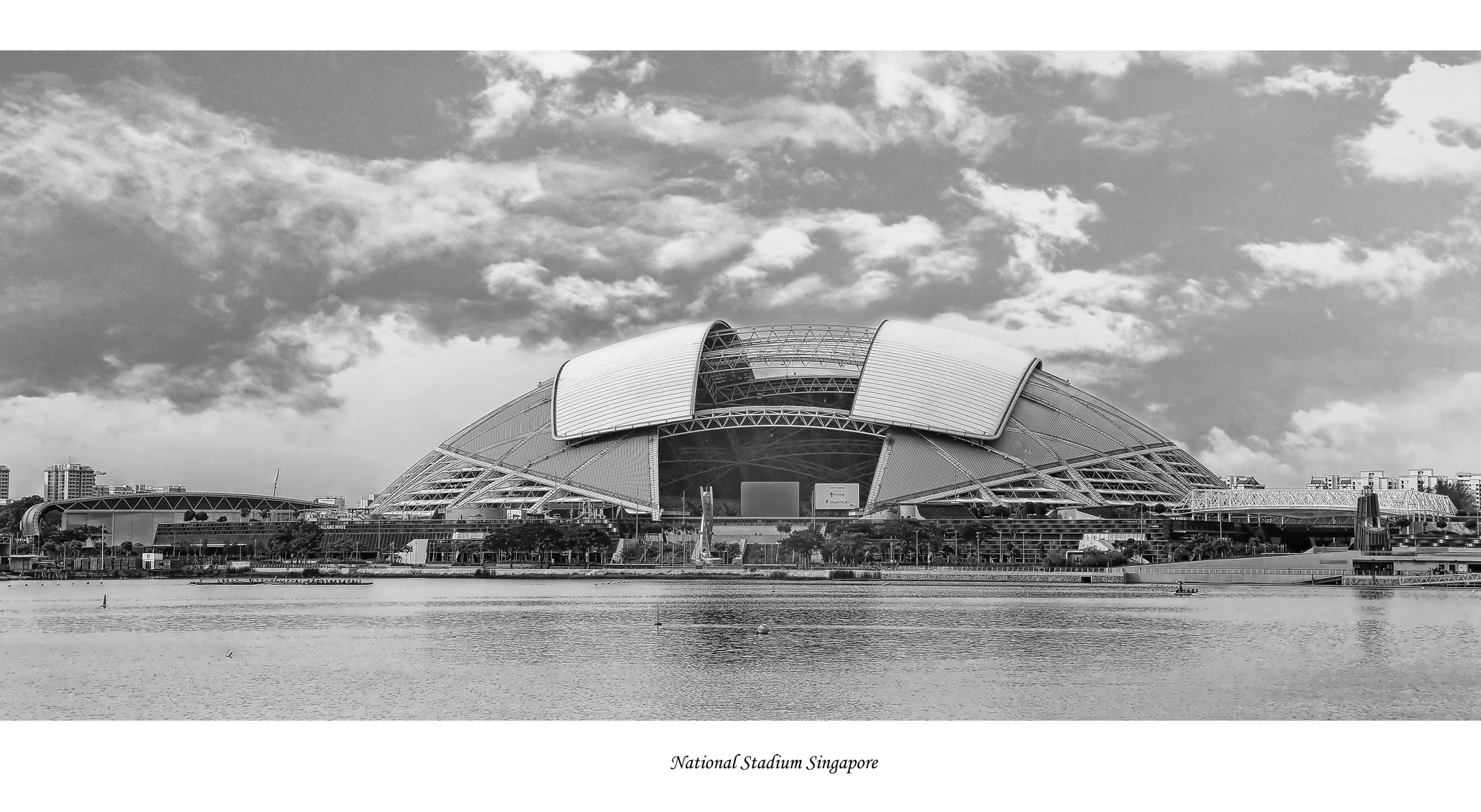 National Stadium Singapore, Architecture Photography