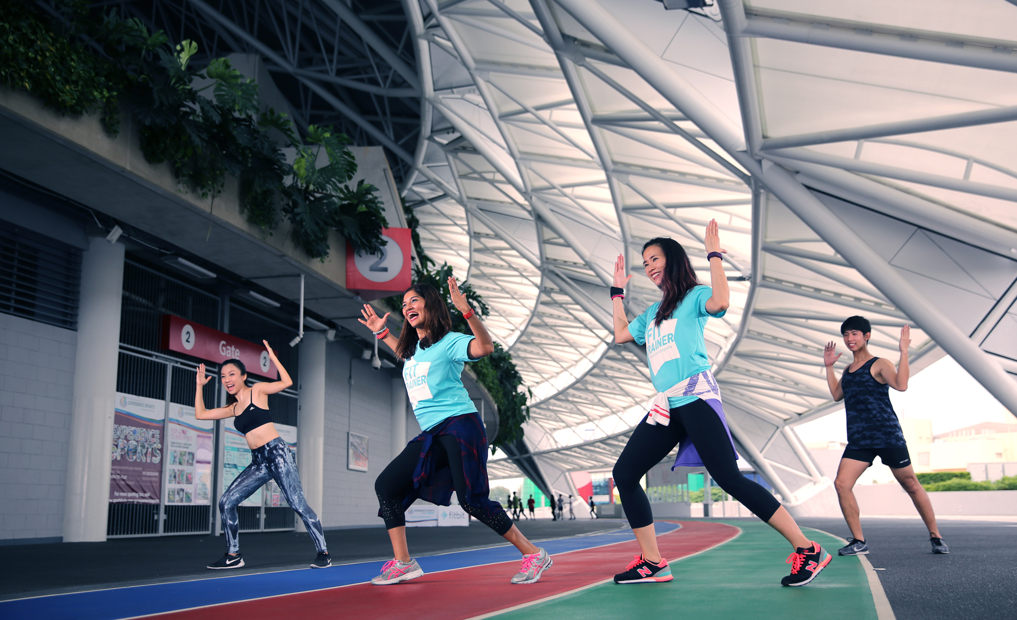 Sports Hub, Zumba, Commercial Photography