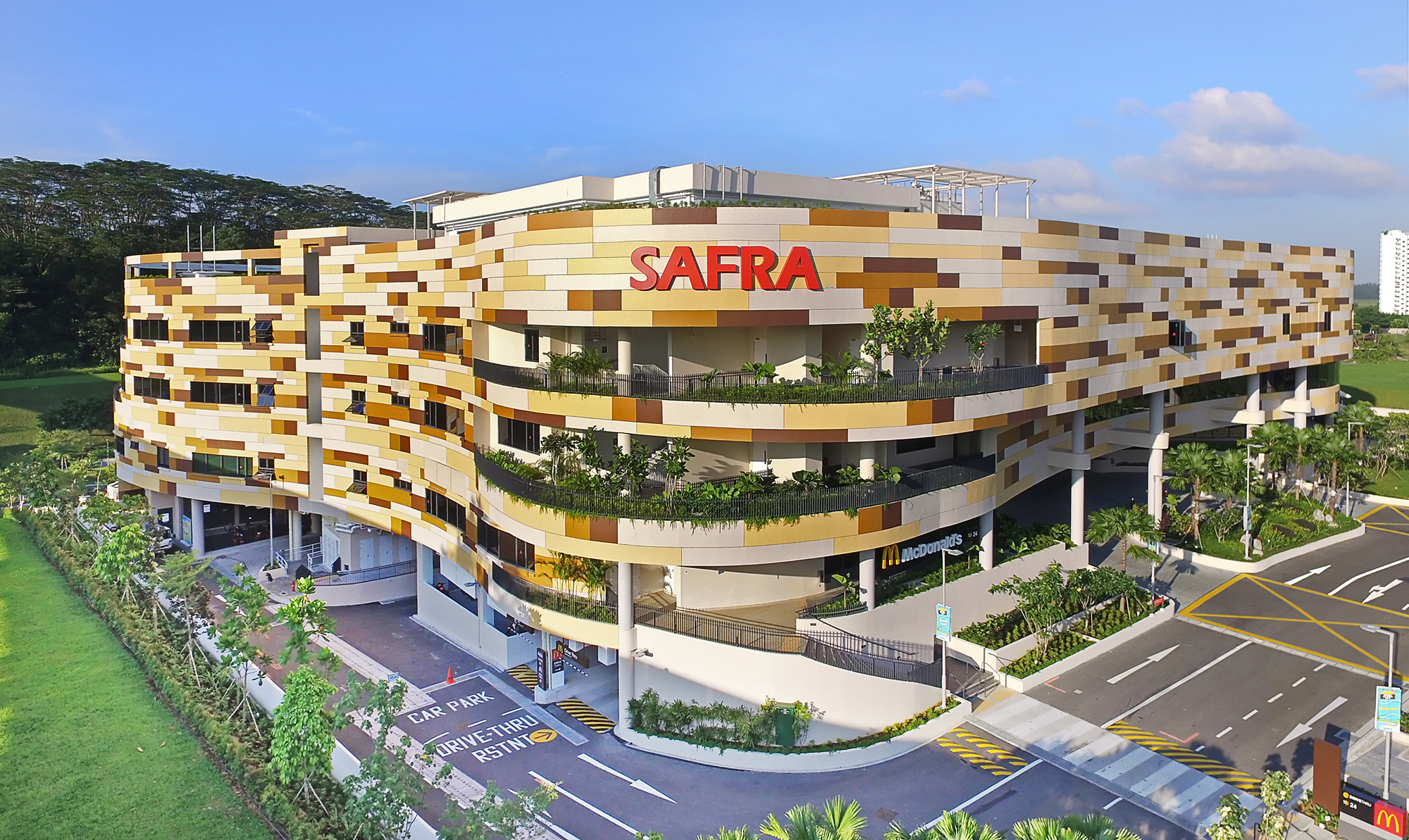 SAFRA Punggol, Architecture Photography