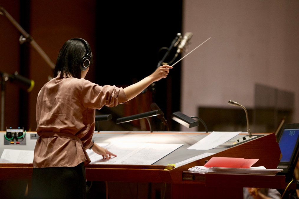 Final at USC Screen Scoring: 65-Piece Orchestral Session @ Warner Bros.
