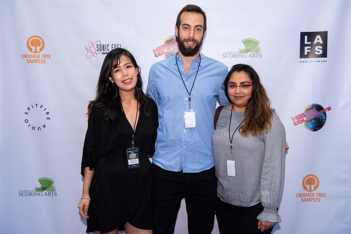 with Directors of A Deep Breath: Ion Legarda and Aliza Jafri