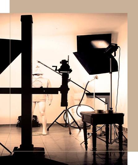 קלוז אפ מהיר על הסטודיו של אריה אביץ צלם מקצועי
