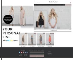 בניית אתר וויקס חנות אופנה בעברית