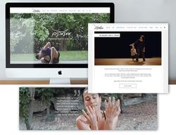 בניית אתר וויקס תדמיתי לריקוד בעברית