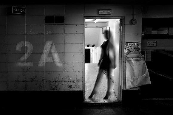 """""""Mujer en el garaje"""""""