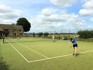 Banbury Hill Farm Tennis Court