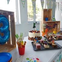 Narozeninová oslava Oliver 3 roky