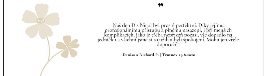 Denisa a Richard P.