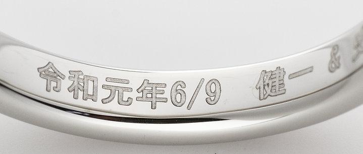 日本語刻印 オプション