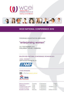 WCEI National Conference Brochure
