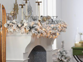 Ways to add some Christmas cheer to your room!