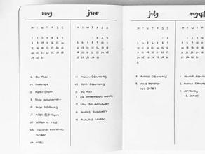 Bullet Journal series - Inspiration