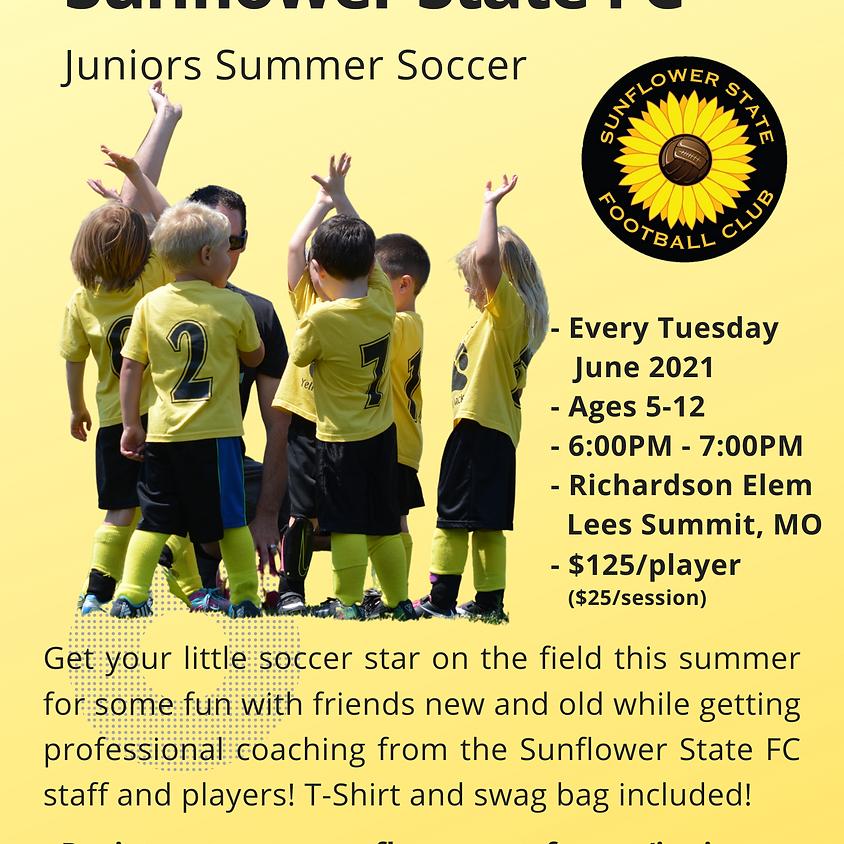 SSFC Juniors Summer Soccer