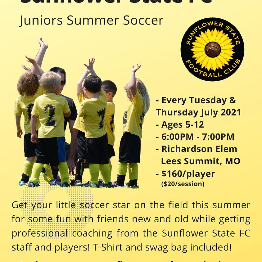 SSFC Juniors Summer Soccer July