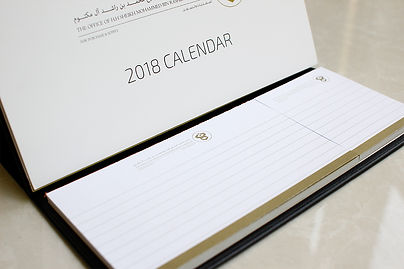 calendar details | high quality corporate gifts in dubai