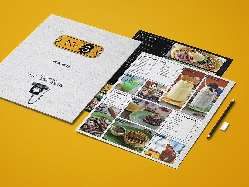 F&B  | print design in dubai | uae